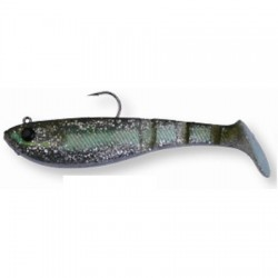 4PLAY SHAD 'READY TO FISH' 8,5cm 12g 01-Green Silver 48721