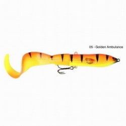 3D HARD EEL Tail 17cm 40g 05-Golden Ambulance 48540