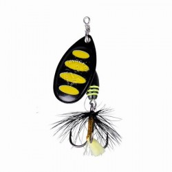 Błystka SAVAGE GEAR Rotex Spinner roz.2a 4g - 11 -Black Bee