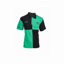 Koszulka Polo HARLEQUIN VERT & NOIR XXL SENSAS 34017