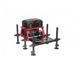 Kosz z platformą GST Red D36 Traper 81251