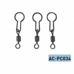 Krętlik z zaczepem do PVA AC-PC034 Jaxon