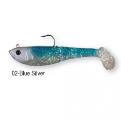 4PLAY SHAD 'READY TO FISH' 11cm 22g 02-Blue Silver 45052