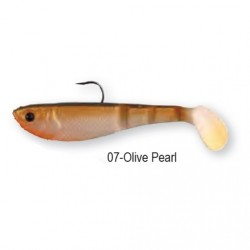 4PLAY SHAD 'READY TO FISH' 7,2cm 8g 07-Olive Pearl  45044