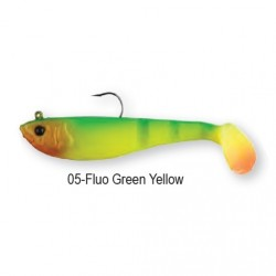 4PLAY SHAD 'READY TO FISH' 8,5cm 12g 05-Fluo Green Yellow 45048