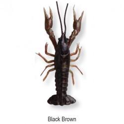 3D CRAYFISH 8cm 4g Black Brown 47103 op.4 sztuki