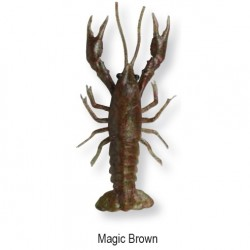 3D CRAYFISH 8cm 4g Magic Brown 47101 op.4 sztuki