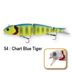 4PLAY 'LIP LURES' - 13cm 54-Chart Blue Tiger