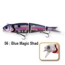 4PLAY 'LIP LURES' - 13cm 56-Blue Magic Shad