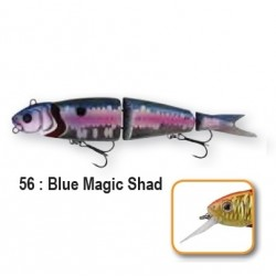 4PLAY LOW RIDERS - 13cm 56-Blue Magic Shad