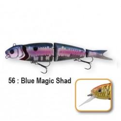 4PLAY LOW RIDERS - 13cm 56-Blue Magic Shad