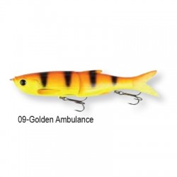 3D Bleak Glide Swimmer  16cm 09-Golden Ambulance