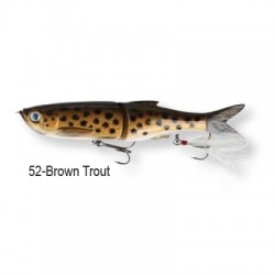 3D Bleak Glide Swimmer  16cm 52-Brown Trout