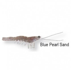 3D Manic Shrimp 5cm Blue pearl sand