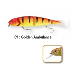 4PLAY 'LOW RIDERS - 13cm 09-Golden Ambulance