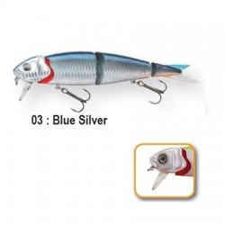4PLAY 'LIP LURES' - 13cm 03-Blue Silver