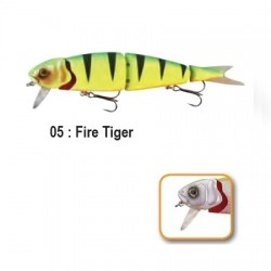 4PLAY 'LIP LURES' - 13cm 05-Fire Tiger