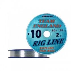 Żyłka Team England Rig Line 0,12mm 1,13kg