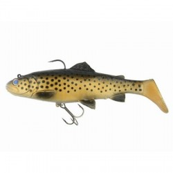 3D TROUT RATTLE SHAD 12,50cm 35g 03-DARK BROWN TROUT 47084