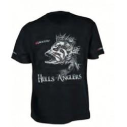 Dragon koszulka T-shirt Hells Anglers OKOŃ czarna