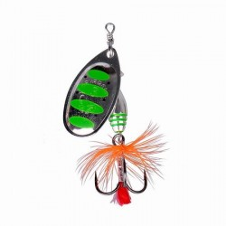 Błystka SAVAGE GEAR Rotex Spinner roz.2a 4g - 10 -Green Highlander