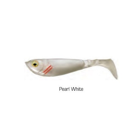 Pulse Shad 8cm kolor PEARL WHITE