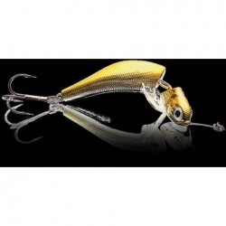 JIGWOBBLER Wake dł.6,5cm waga 13 g Yellow Chrome