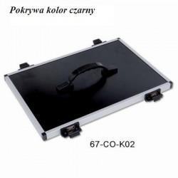 Pokrywa kasety z rączką Robinson kolor czarny 67-CO-K02