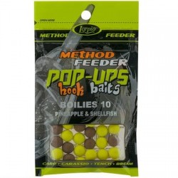 Pop-Ups Hook Baits Boilies Pineapple & Shellfish 10mm DD-004-001