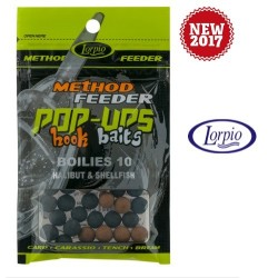 Pop-Ups Hook Baits Boilies Bubblegum & Shellfish 10mm