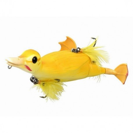 3D Suicide Duck 15cm - Yellow   Savage gear