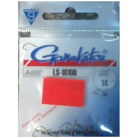 Gamakatsu LS-1810 N 25 szt.