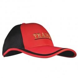 Czapka Traper GST czerwono-czarna