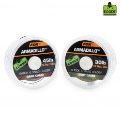 ARMADILLO CAMO LIGHT 45lb 20m SHOCK & SNAG LEADER  CAC456