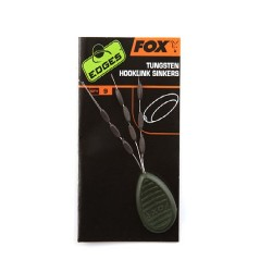 EDGES FOX STOPER TUNGSTEN HOOKLINK SINKERS CAC585