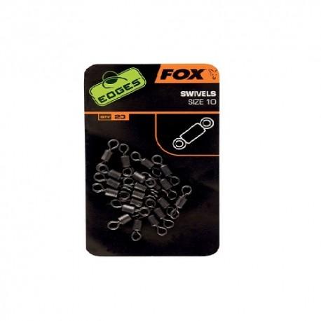 EDGES FOX KRĘTLIKI SWIVELS roz. 7 CAC533