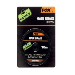 EDGES FOX HAIR BRAID 10M BROWN CAC565