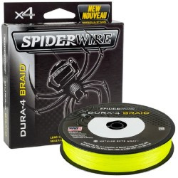 Plecionka Spiderwire Dura 4 YELLOW 0.10mm 150M  9.1kg