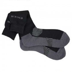 SKARPETKI EIGER ALPINA SOCK 44/47 - BLACK/GREY 14526