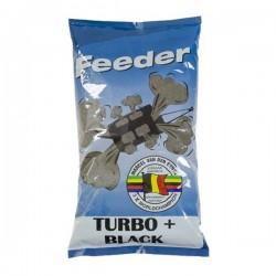 Zanęta Feeder TURBO+ BLACK  MVDE 1kg EZ-TFB