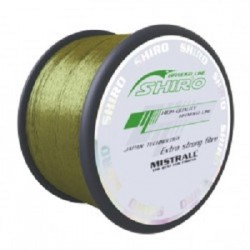 Plecionka Shiro Braided Line - Green 0,19mm 16,5kg 1000m