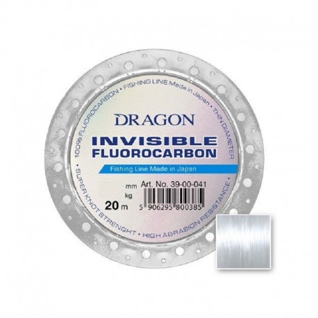 Invisible Fluorocarbon Dragon 0,305mm 6,30kg 20m 39-00-030
