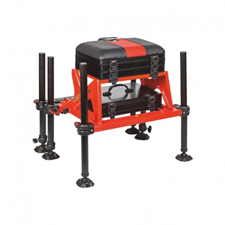 Kosz z platformą GST PRO RED D36 Traper 81290
