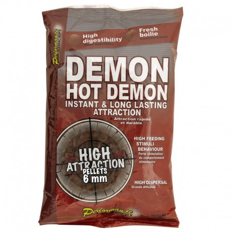 Pellet DEMON HOT DEMON. 700g 6mm 53802 STARBAITS