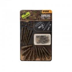 EDGES FOX Camo Power Grip Lead Clip Kit Size 7 CAC776