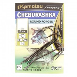 Haczyki Kamatsu Cheburashka Round Forged nr 4/0