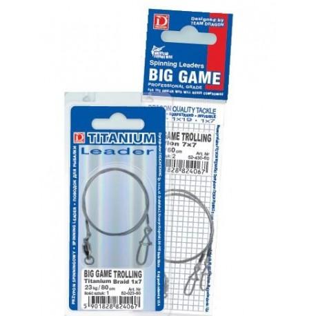 Przypon BIG GAME TROLINNG 80cm 52-43-080 DRAGON