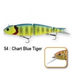 4PLAY LOW RIDERS - 13cm 54-Chart Blue Tiger