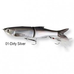 3D Bleak Glide Swimmer  16cm 01-Dirty Silver