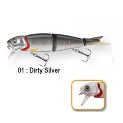 4PLAY 'LIP LURES' - 13cm 01-Dirty Silver